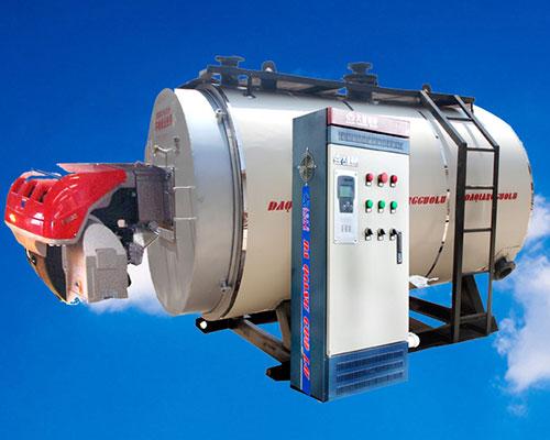 臥式燃油氣熱水鍋爐